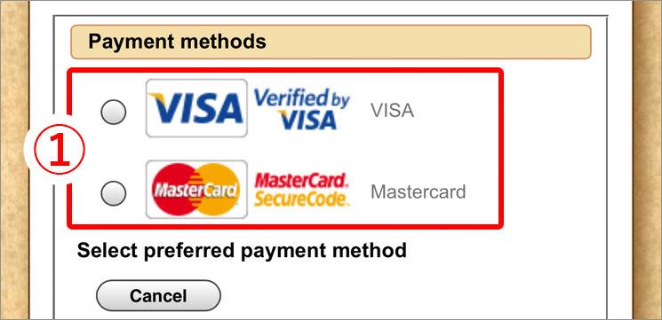 クレジットカード会社の選択