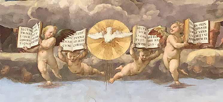 聖体の議論 聖霊と4つ福音書