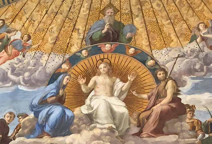 聖体の議論 三位一体と神