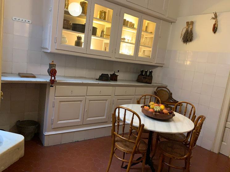 アパートメントエリア 使用人の食堂