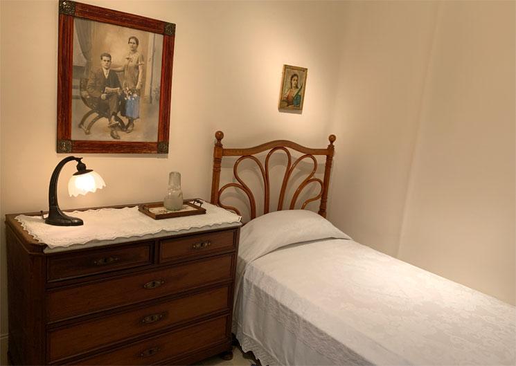 アパートメントエリア 使用人の寝室