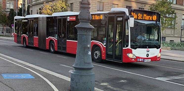 ウィーン市内バス