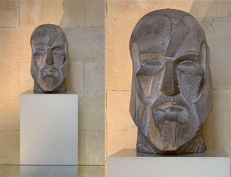 ガウディの彫刻