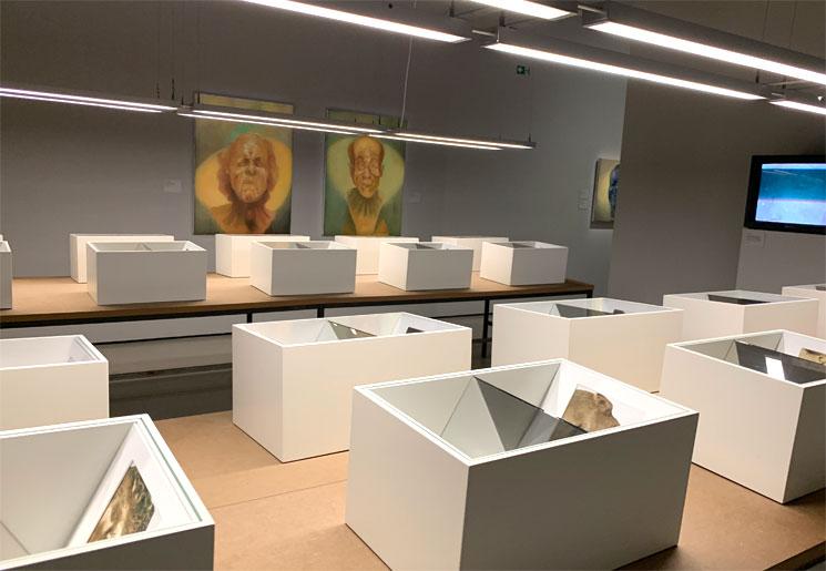 オランジュリーの展示風景