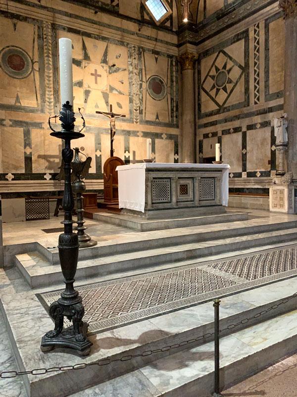 サン・ジョヴァンニ洗礼堂 - 高祭壇