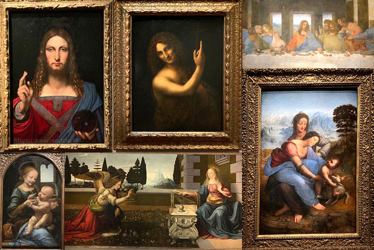 レオナルド・ダヴィンチの絵画