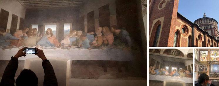 サンタ マリア デッレ グラツィエ教会&「最後の晩餐」 英語ツアー