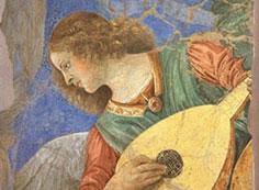 リュートを奏でる天使