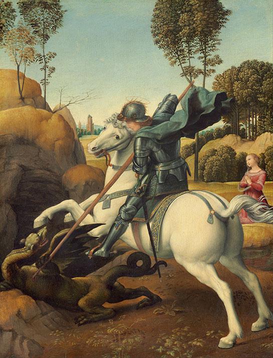 聖ゲオルギウスと竜