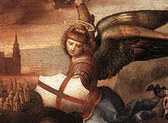 聖ミカエルと竜