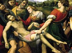キリストの遺骸の運搬(ボルゲーゼの十字架降下)